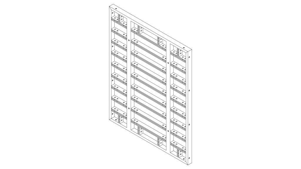 Sistema de Encofrado para paredes Comax