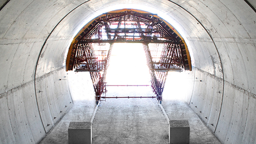 Tunnel 2016 - Gantry and Domea