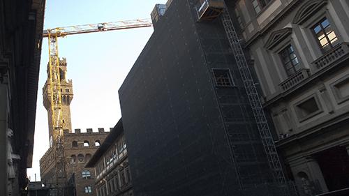 Uffizi - 2015 - Scaffolding