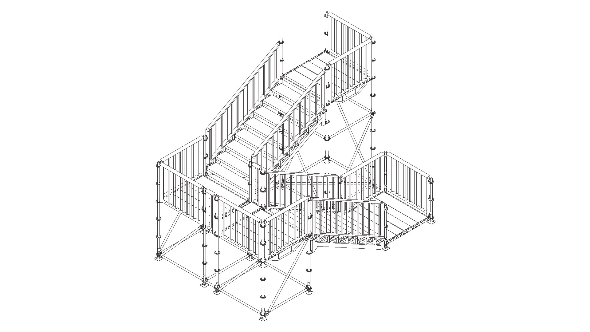 Stairs Scaffolding