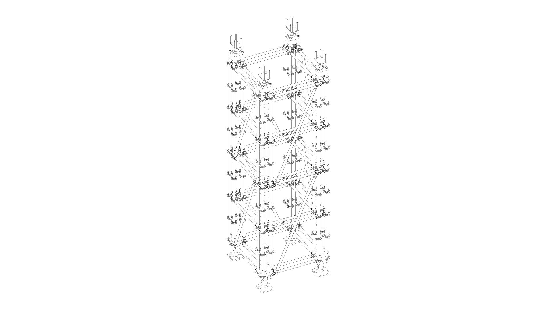 Torres Multicom de alto alcance