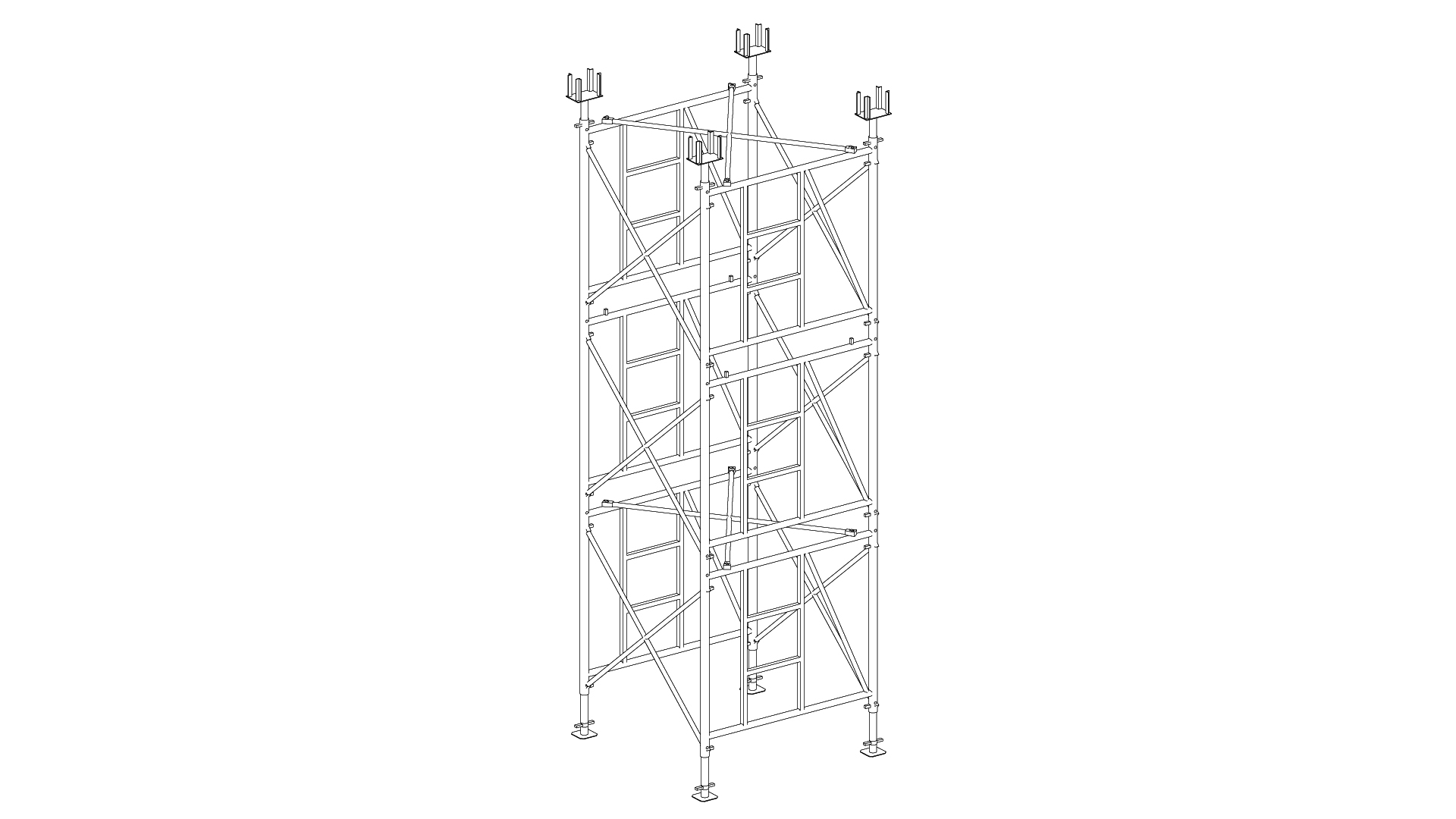 TC80 Support towers for Designing and Implementation of infrastructure and industrial building