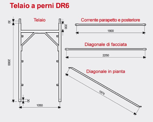 Ponteggio a perni DR6