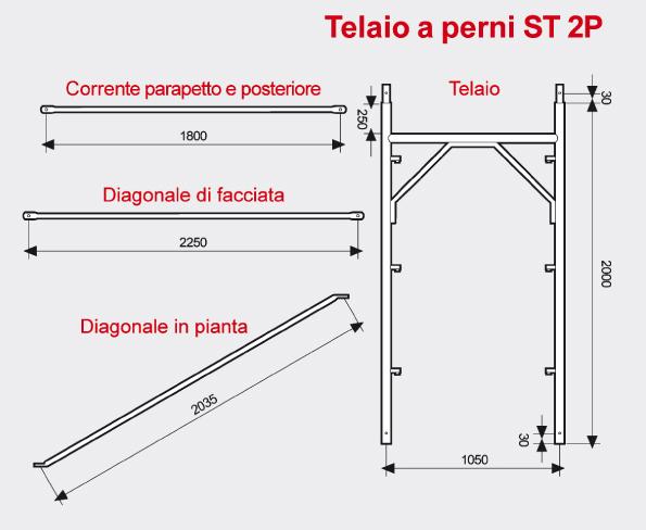 Ponteggio a perni ST 2P